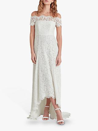 Whistles Rose Wedding Dress, Ivory/Multi