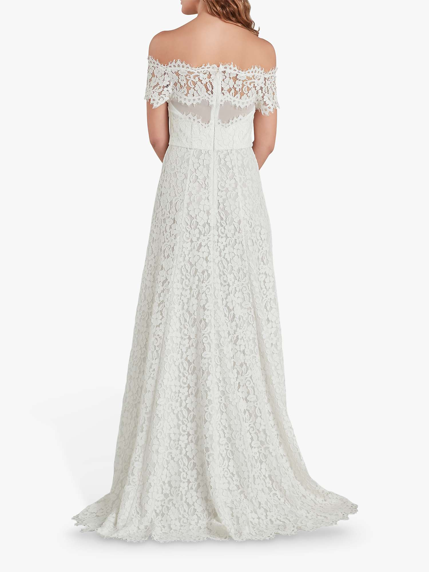 Whistles Rose Wedding Dress Ivory Multi At John Lewis Partners