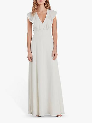 Whistles Eve Silk Wedding Dress, White