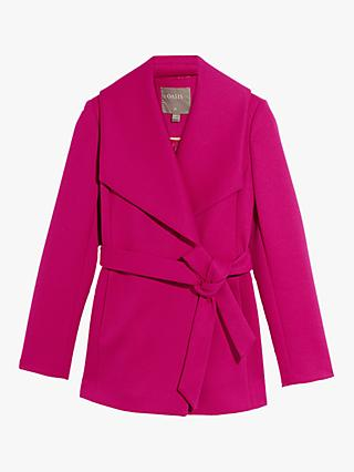 Oasis Short Wrap Coat