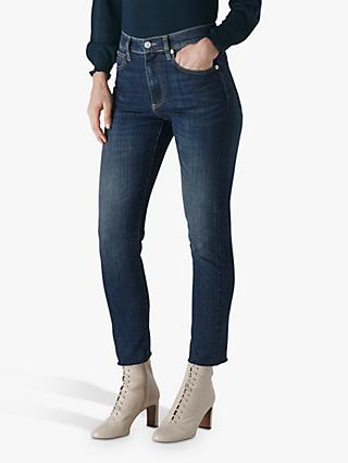 Whistles Perfect Slim Leg Jeans, Denim