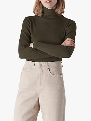 Whistles Essential Roll Neck Top