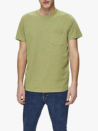 SELECTED HOMME Organic Recycled Cotton O-Neck T-Shirt, Sage Marl