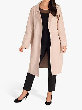 chesca Suede Coat