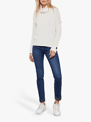Mint Velvet Houston Indigo Jeans, Dark Blue