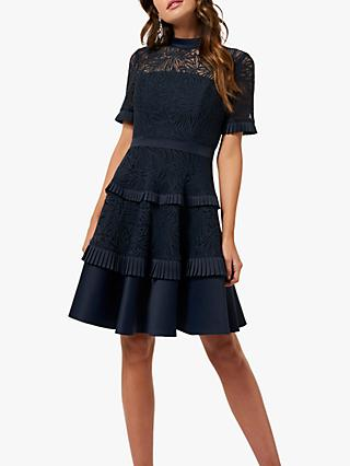 Forever New Raine Spliced Panel Party Dress