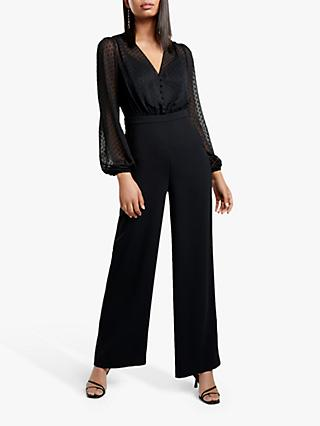 Forever New Amber Jumpsuit, Black