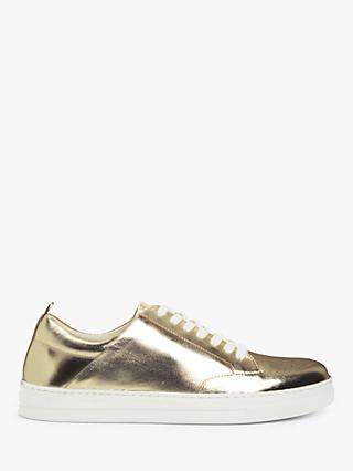 Boden Emily Low Top Trainers, Gold
