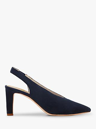 Boden Lydia Slingback Pointed Suede Heels