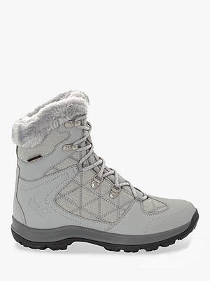 Buy Jack Wolfskin Thunder Bay Texapore Women's Mid Waterproof Walking Boots, Light Grey/Grey, 5 Online at johnlewis.com