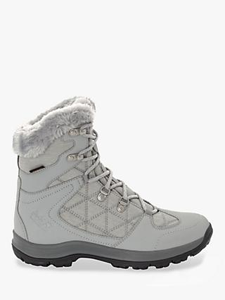 Jack Wolfskin Thunder Bay Texapore Women's Mid Waterproof Walking Boots, Light Grey/Grey