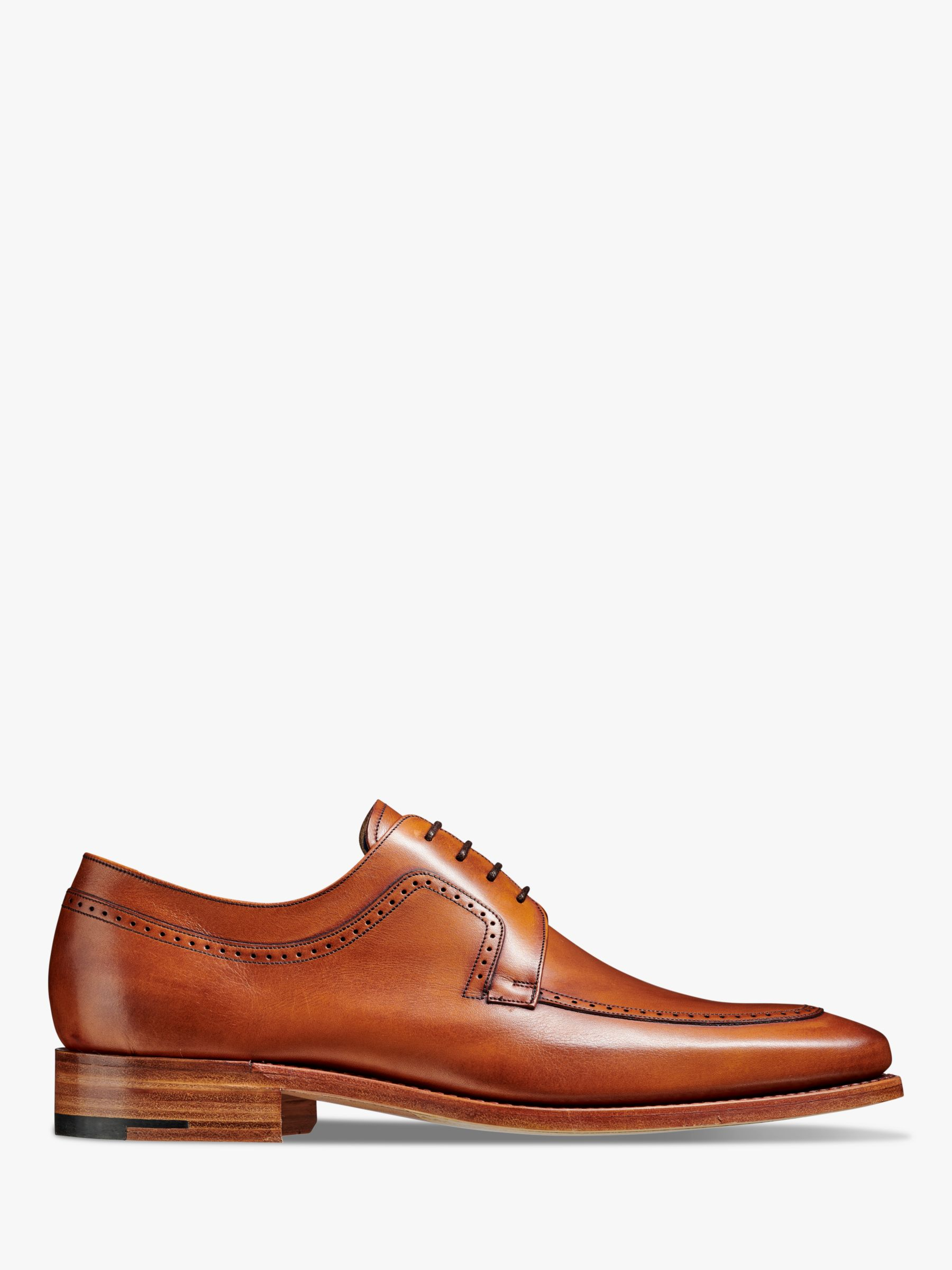 Barker Barker Anthony Leather Shoes, Antique Rosewood