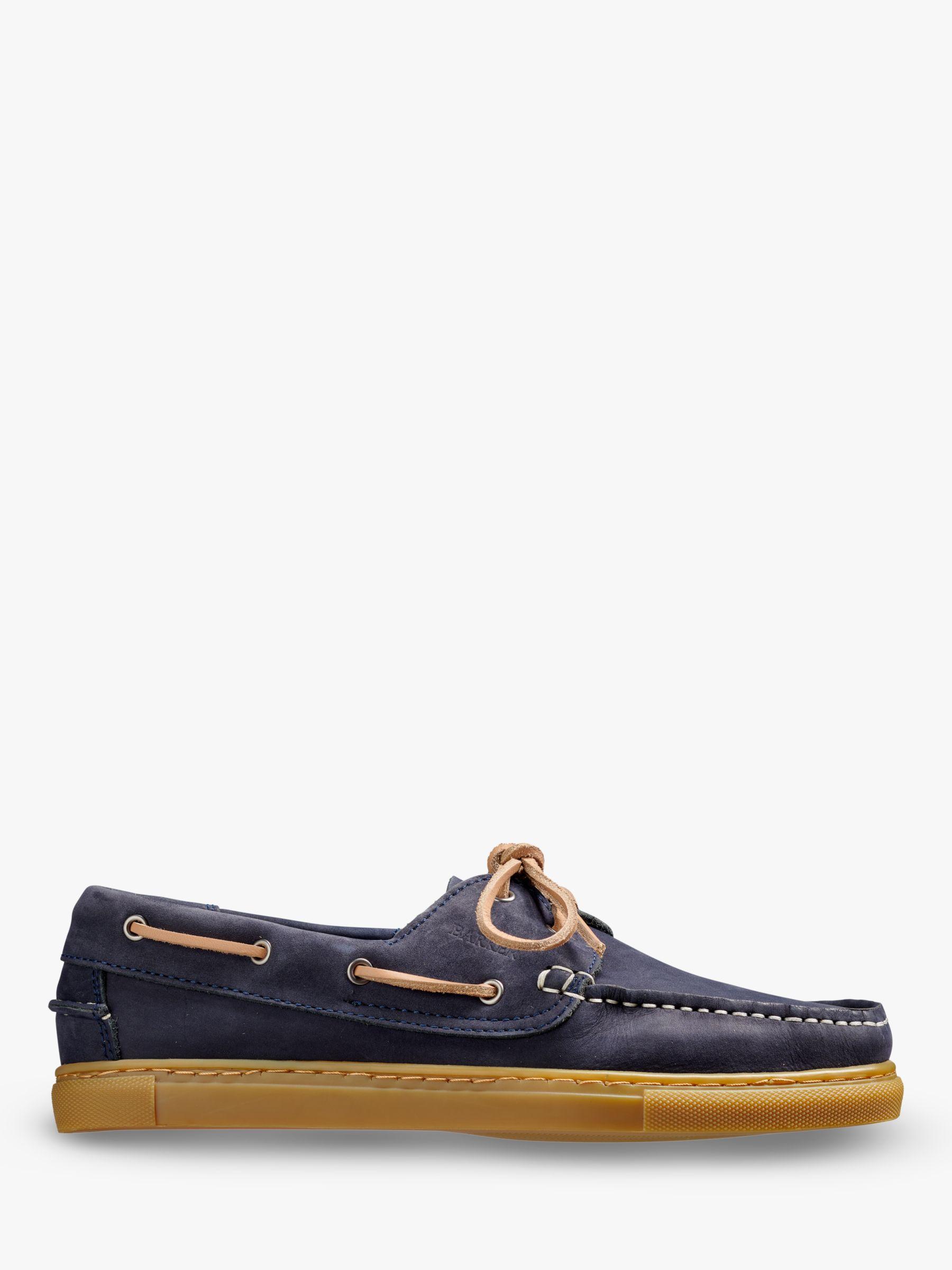 Barker Barker Henri Leather Boat Shoes