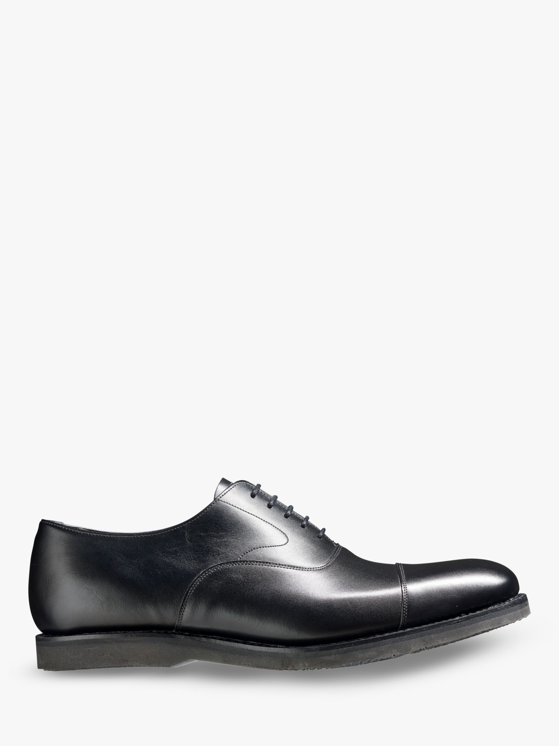Barker Barker Stan Leather Oxford Shoes, Black Calf