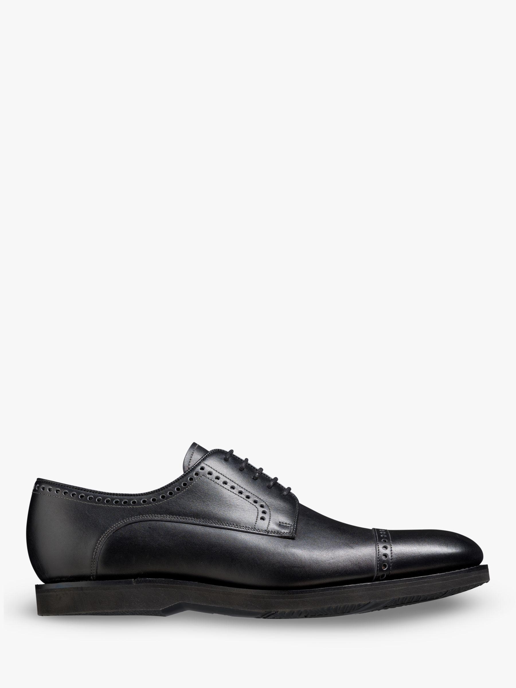 Barker Barker Marcus Leather Derby Shoes, Black Carf