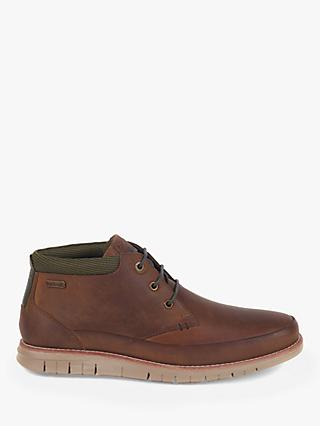Barbour Nelson Mudguard Chukka Boots, Choco