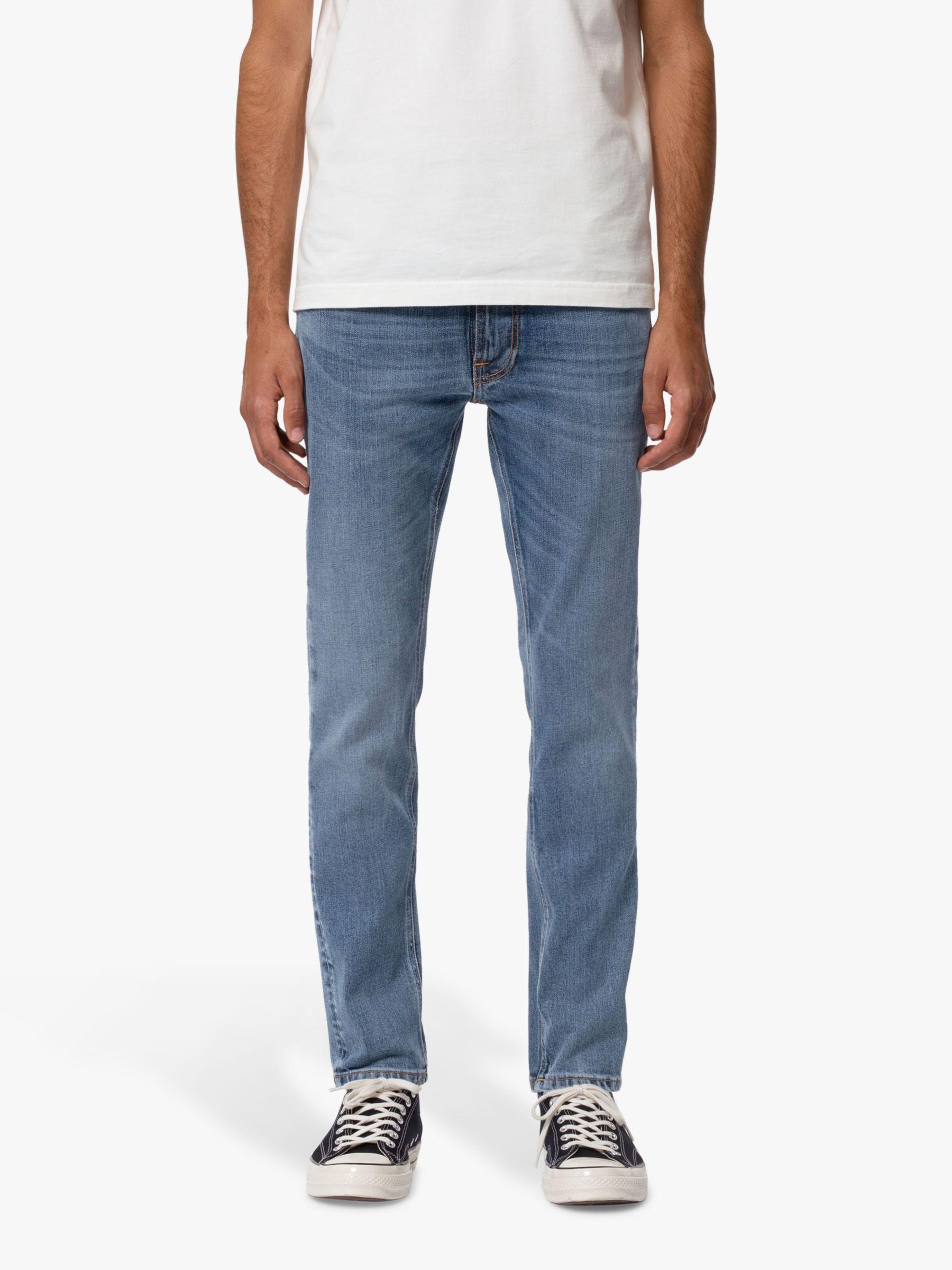 Nudie Jeans Nudie Jeans Slim Lean Dean Jeans, Lost Orange