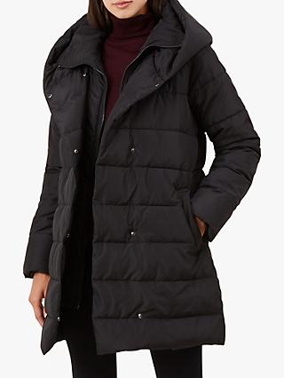 Hobbs Hadley Padded Jacket, Black