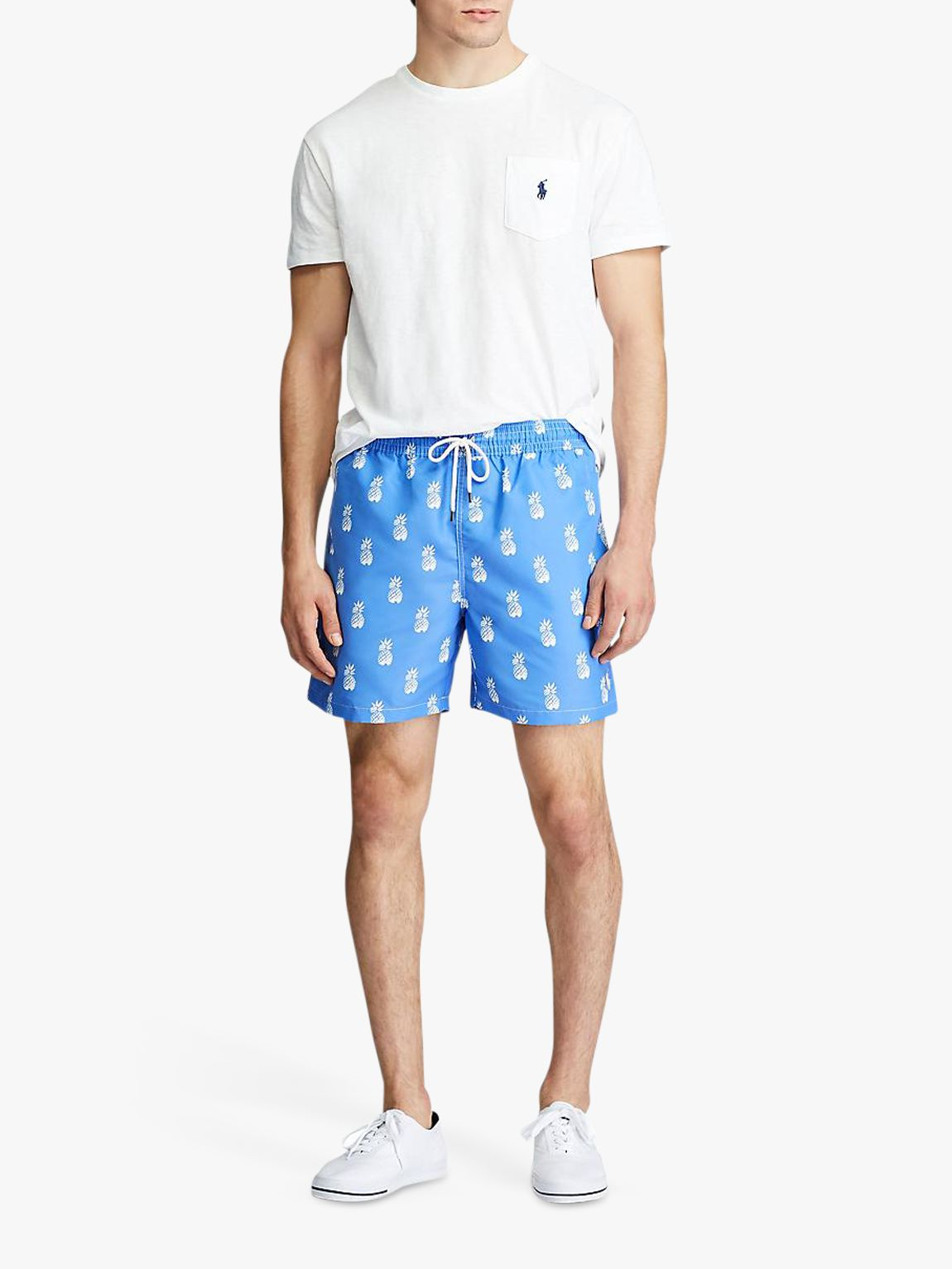 Ralph Lauren Polo Ralph Lauren Traveller Pineapple Print Swim Shorts, Bathsheba