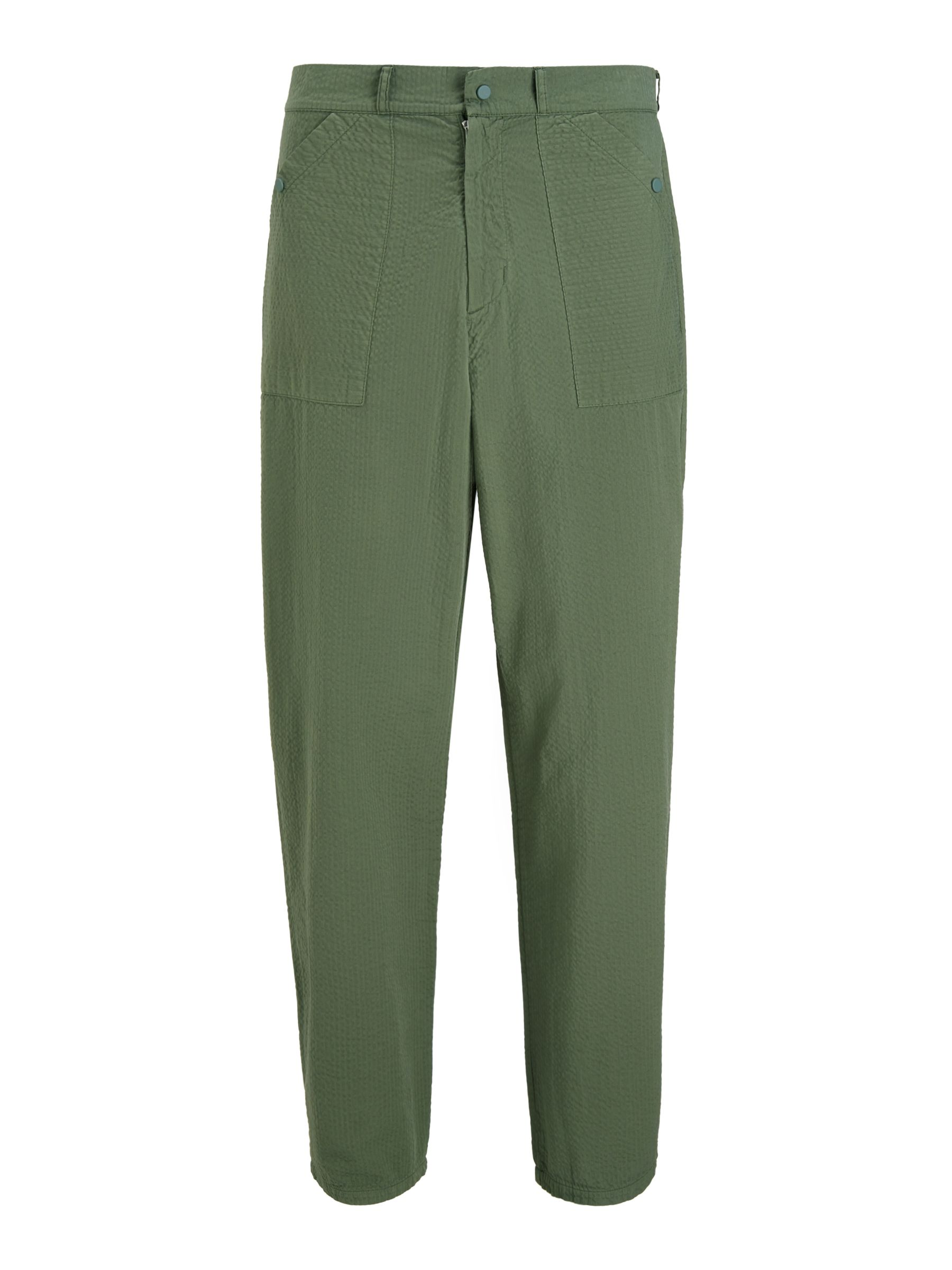 Buy Les Basics Patch Trousers, Sage, S Online at johnlewis.com