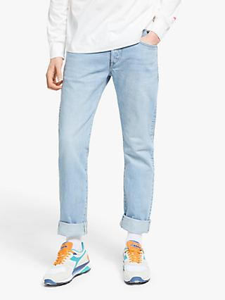 Edwin Classic Regular Tapered Jeans, Light Used Blue