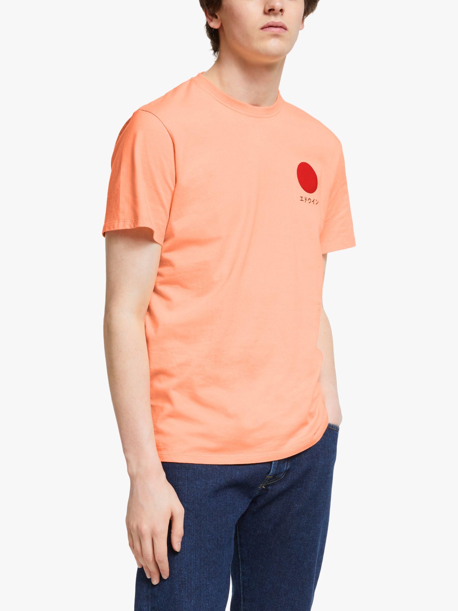 Edwin Edwin Japanese Sun T-Shirt, Cantaloupe