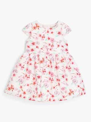 John Lewis & Partners Baby Floral Dress, Multi