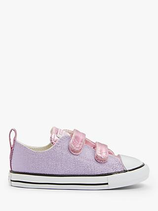 Converse Children's Chuck Taylor All Star 2V Metallic Trainers, Pink