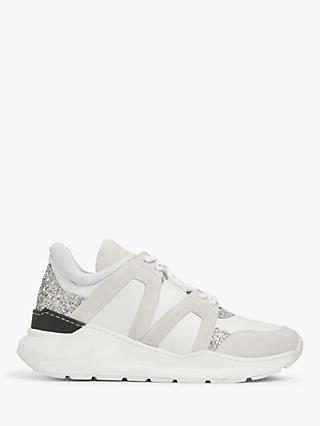 AND/OR Eve Leather Chunky Trainers, White