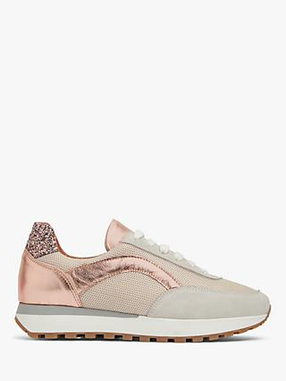 AND/OR Esmee Leather Trainers, Pink