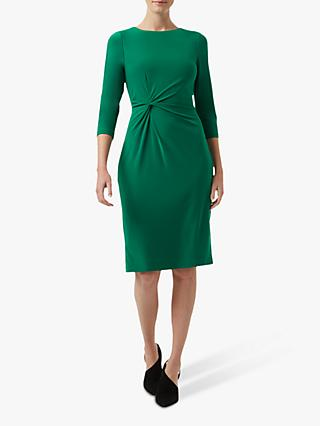 Hobbs Cassia Dress, Dark Green