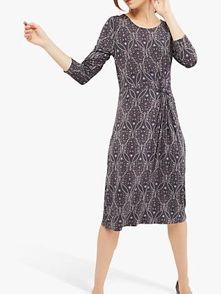 White Stuff Trellis Jersey Dress, Multi