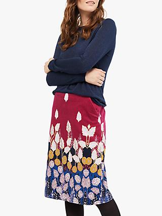 White Stuff Lisbeth Skirt, Cranberry Plum