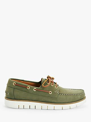 John Lewis & Partners Modern Leather Boat Shoes