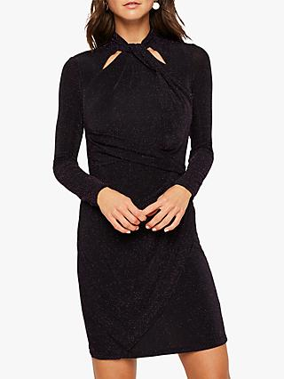 Studio 8 Verna Sparkle Dress, Black Multi