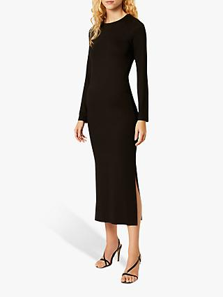 French Connection Jersey Long Sleeve Maxi Dress