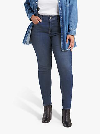 Levi's Plus 310 Shaping Super Skinny Jeans, Westbound