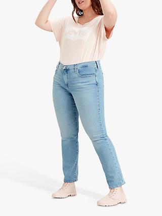 Levi's Plus 314 Shaping Straight Jeans, Berlin Summer