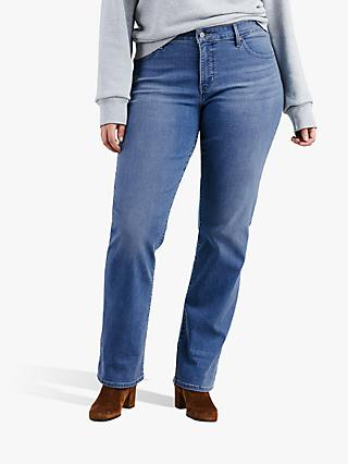 Levi's Plus 314 Shaping Straight Jeans, Paris Nights