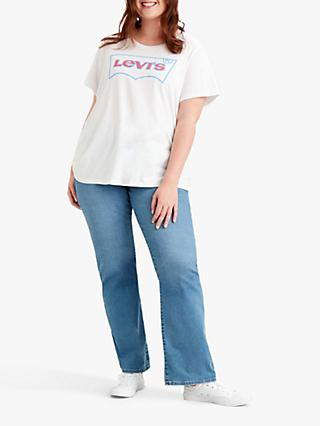 Levi's Plus Perfect Batwing Logo T-Shirt, White