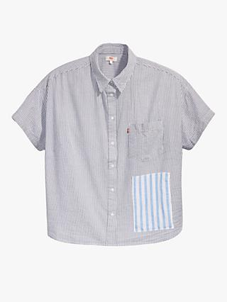 Levi's Plus Alexandra Striped Shirt, Multi
