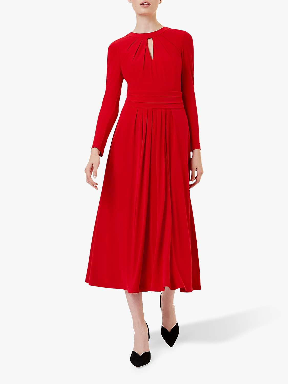 Hobbs Suri Dress, Red by Hobbs