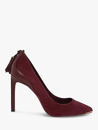 Ted Baker Semaraa Leather Stiletto Heel Court Shoes