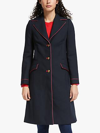 Boden Dove Coat, Navy
