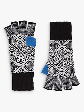 Brora Cashmere Nordic Fingerless Gloves