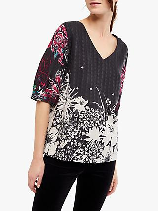 White Stuff Kiku Woven Top, Multi