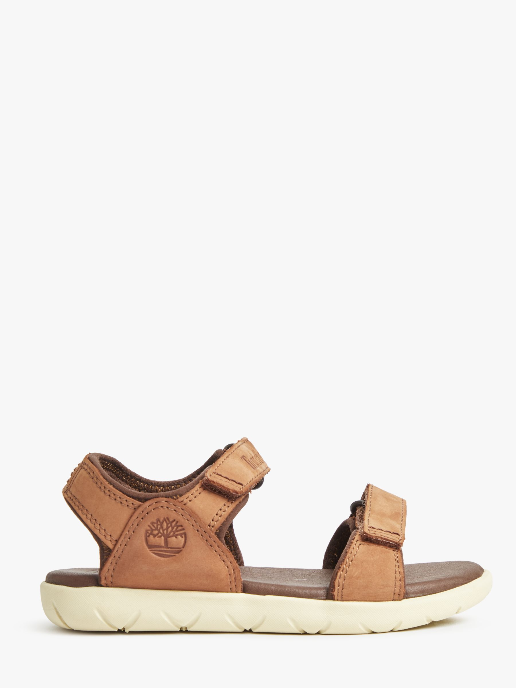 Buy Timberland Children's Nubble Double Strap Sandals, Brown, 26 Online at www.retrievedmagnetic.com