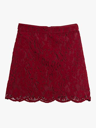 Oasis Floral Lace Mini Skirt