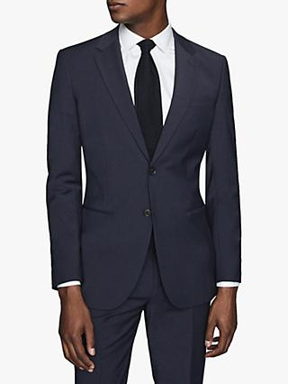 Reiss Hope Modern Fit Travel Suit Jacket, Navy