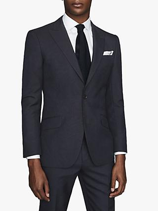 Reiss Enzo Tailored Wool Suit Jacket, Navy